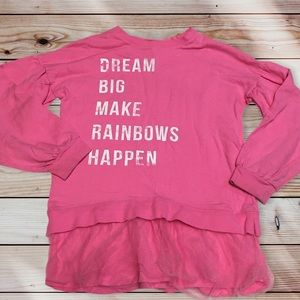 DREAM BIG Tutu Sweatshirt